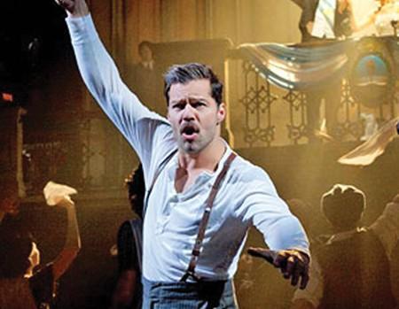 Nominan a Ricky Martin por su trabajo en Evita