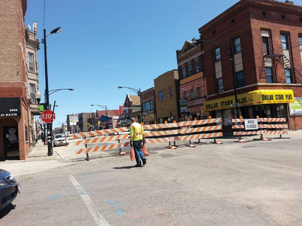 Cermak Rd Closure