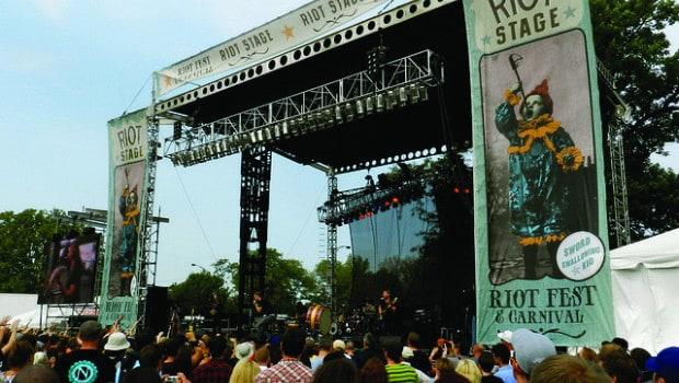 Listo el Riot Fest en el Douglas Park