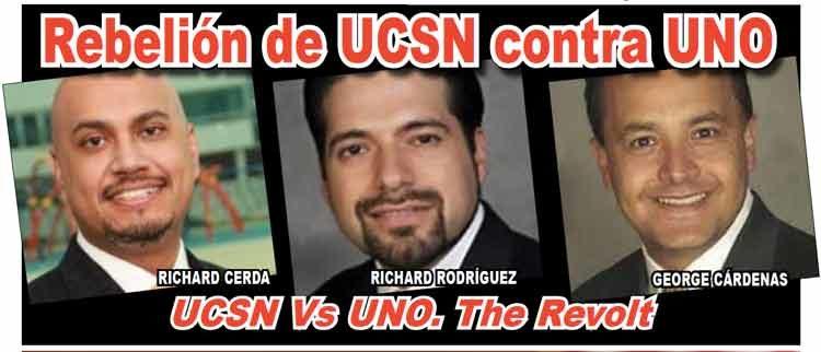 Rebelión de UCSN contra UNO